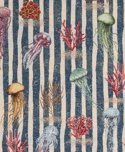 Stof Gobelin dieren 002 - Decoratiestoffen -  Gordijnstoffen -  Meubelstoffen