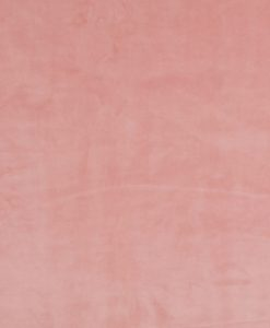 Stof Velvet Plain Oudroze 04 - Decoratiestoffen