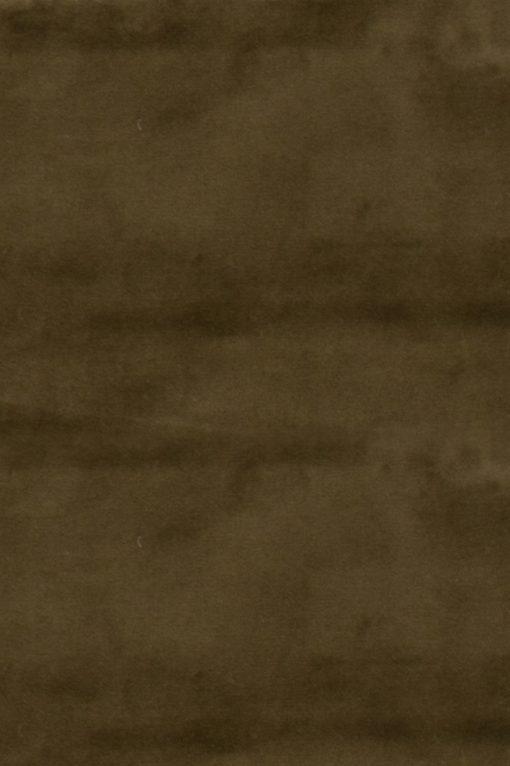 Stof Velvet Plain Olijfgroen 11 - Decoratiestoffen
