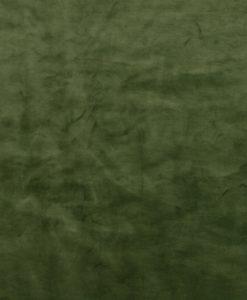 Stof Velvet Plain Bosgroen 12 - Decoratiestoffen