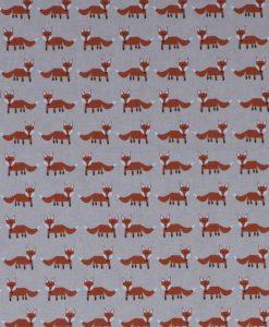 Stof Linnenlook dieren 017 - Gordijnstoffen -  Decoratiestoffen