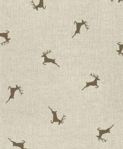 Stof Linnenlook Kerst 016 - Decoratiestoffen