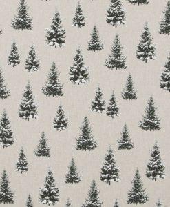 Stof Linnenlook Kerst 022 - Decoratiestoffen