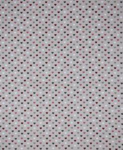 Stof Linnenlook motief 109 - Gordijnstoffen -  Decoratiestoffen