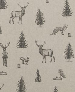Stof Katoen Linnen Print 001 - Gordijnstoffen -  Decoratiestoffen