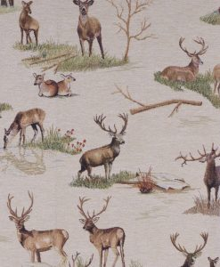 Stof Gobelin dieren 024 - Decoratiestoffen -  Gordijnstoffen -  Meubelstoffen