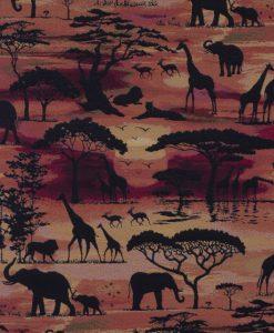 Stof Gobelin dieren 006 - Decoratiestoffen -  Gordijnstoffen -  Meubelstoffen