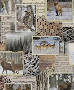 Stof Gobelin dieren 008 - Decoratiestoffen -  Gordijnstoffen -  Meubelstoffen