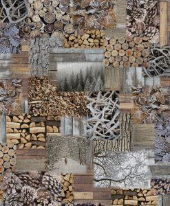 Stof Gobelin motief 033 - Decoratiestoffen -  Gordijnstoffen -  Meubelstoffen
