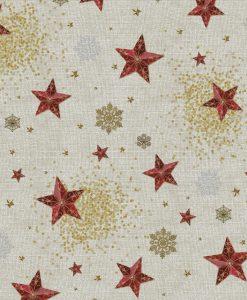 Stof Gobelin Kerst 007 - Decoratiestoffen -  Gordijnstoffen -  Meubelstoffen