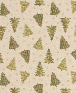 Stof Gobelin Kerst 020 - Decoratiestoffen -  Gordijnstoffen -  Meubelstoffen