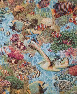 Stof Gobelin dieren 040 - Decoratiestoffen -  Gordijnstoffen -  Meubelstoffen