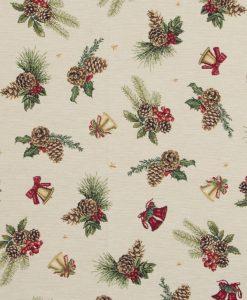Stof Gobelin Kerst 023 - Decoratiestoffen -  Gordijnstoffen -  Meubelstoffen