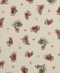 Stof Gobelin Kerst 024 - Decoratiestoffen -  Gordijnstoffen -  Meubelstoffen