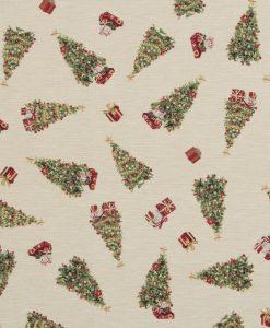 Stof Gobelin Kerst 025 - Decoratiestoffen -  Gordijnstoffen -  Meubelstoffen