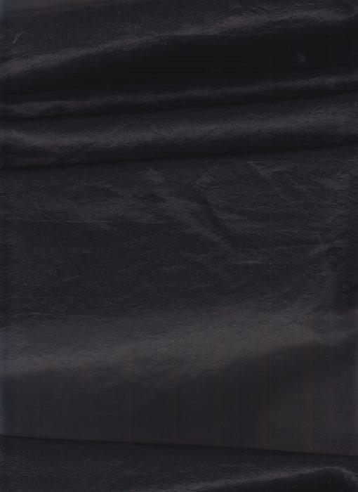 Gevoerde Taft black - Gordijnstoffen
