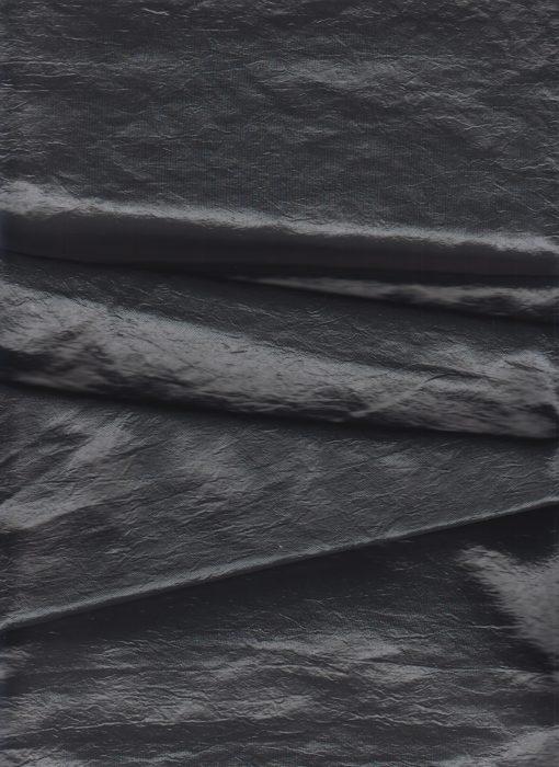 Gevoerde Taft darkgrey - Gordijnstoffen